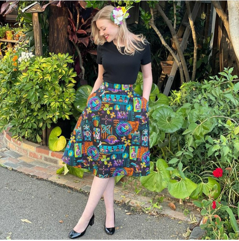 skirt outfit for spring