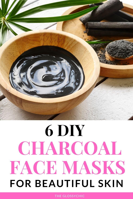 6 DIY Charcoal Face Masks For Beautiful Skin