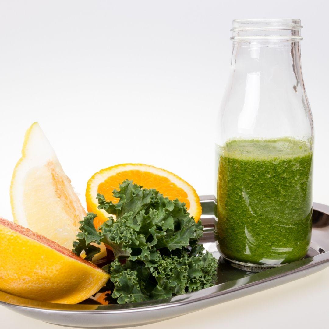how to drink kale juice