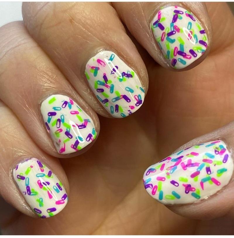 sprinkles nail designs