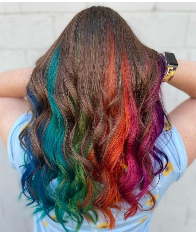 Trending Rainbow Hairs