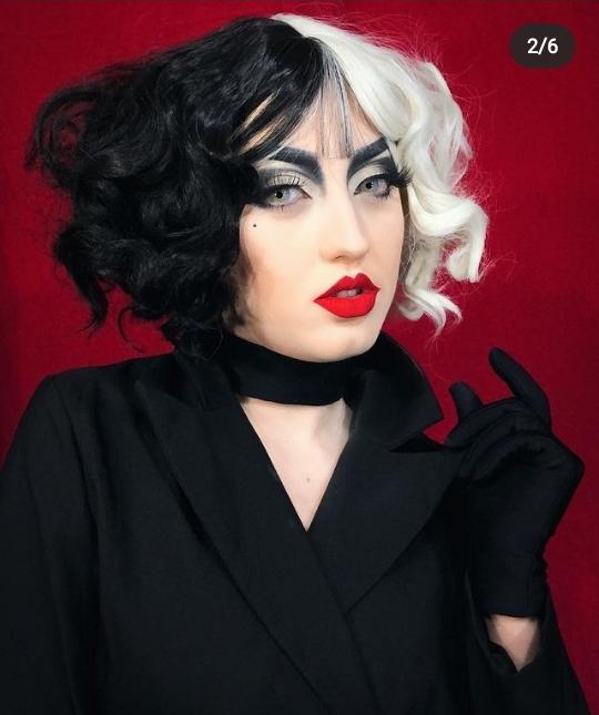 Cruella makeup