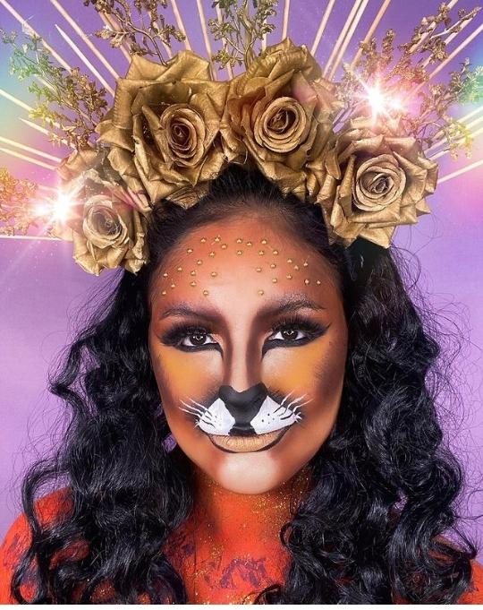 Halloween Lion makeups