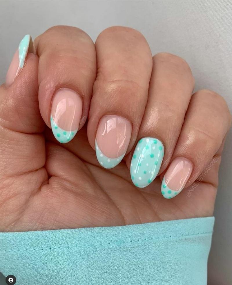 mint nails designs