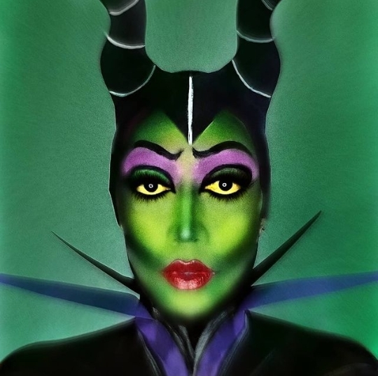 Disney characters makeup
